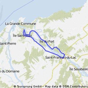 #25 Vélo sur la rivière Saint-François