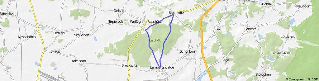 """Runde für Radrennen """"Rund um Lampertswalde"""""""