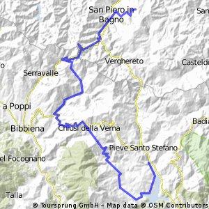 Alpi di Serra - Tiberstausee