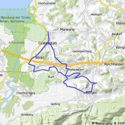 Einstieg - Bergen Grabenstätt Bergen 2016