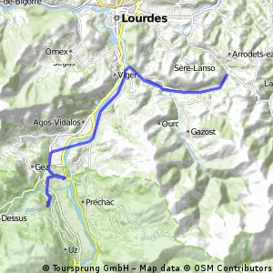 2016 Ride Day 50 - Argelès-Gazost to Col de Lingous and Return