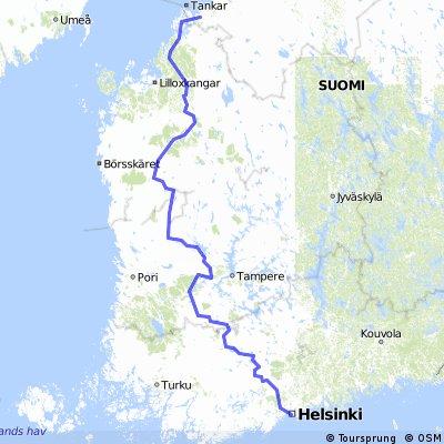 SF Tour 2016 route