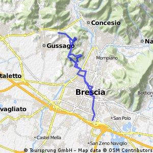 ride through Brescia