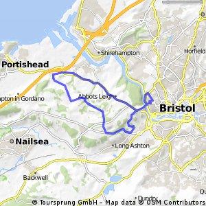 bristol to Portishead