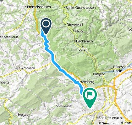 Lange Radrunde durch Langenlonsheim