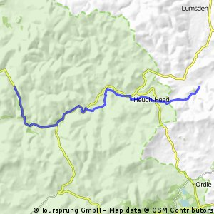 The River Don & The Lecht Climb