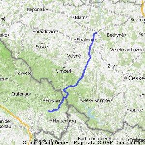 05 Etappe Pisek- Haidmühle-Waldkirchen 100 Km 1240 hm
