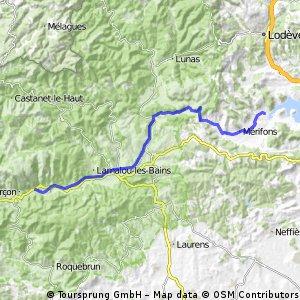 Étape 4 : option Lac Salagou