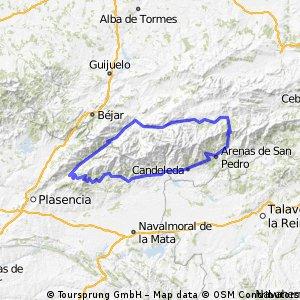 Ruta circular Gredos y La Vera