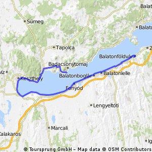 Balatonföldvár - Badacsony