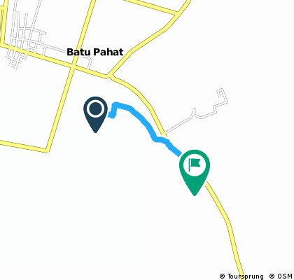 Brief ride from Batu Pahat to CHS