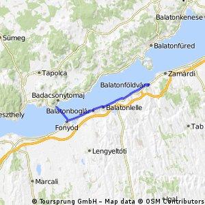 Badacsony - Balatonföldvár