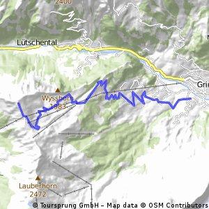 Grindelwald to Mannlichen