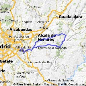 Ruta Ciclodeportiva 04: 106 Km 858 m - 'Corpa y Aranzueque'