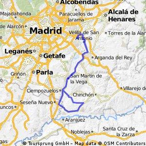 Ruta Ciclodeportiva 03: 115 Km 522 m - 'Villaconejos' 12