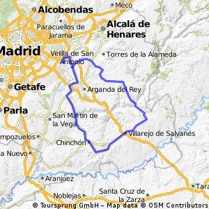 Ruta Ciclodeportiva 07: 115 Km 957 m - 'Por las vegas del Jarama, el Tajuña y el Tajo' 19