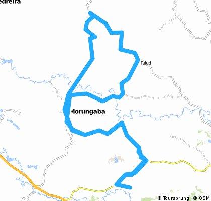 Baroneza-Morungaba-Trevo Amparo-Tuiuti-Morungaba-Baroneza