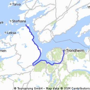 Trondheim - Ørlanddet