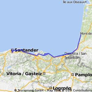 Santander - Biarritz