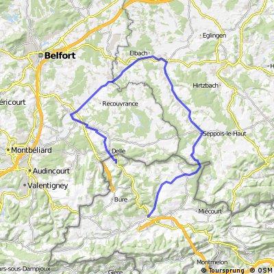 Boncourt - Canal Rhin-Rhone - Porrentruy