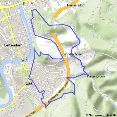 Pampichlerwarte-Massenburg-Kalvarienberg