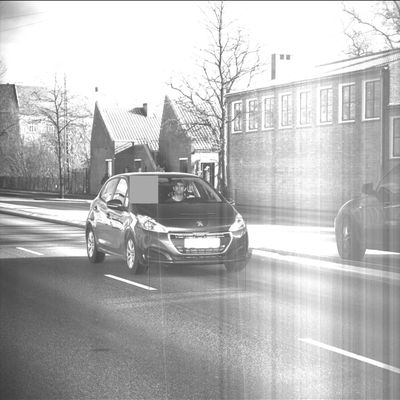 Tour de Copenhagen. Ikke i bil, den er ikke stabil for helved.