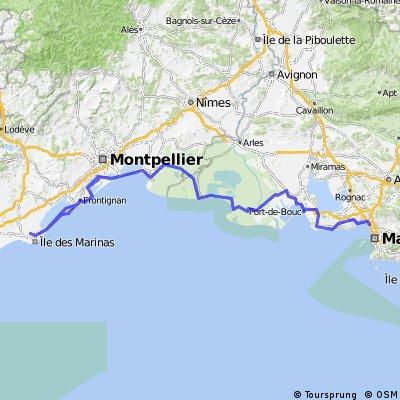 Agde - Marseille