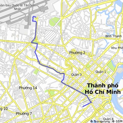 Quick bike tour through Ho Chi Minh City