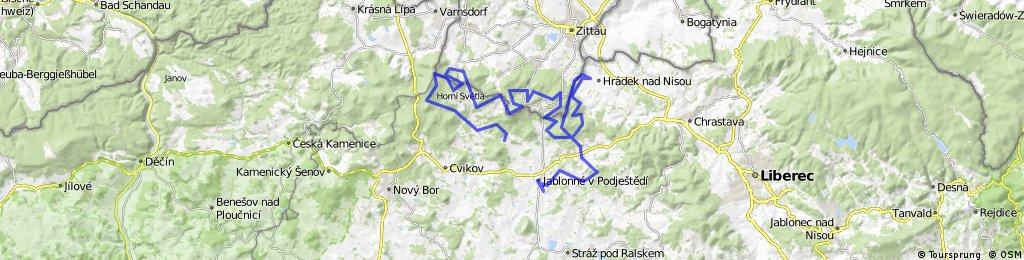 Malevil Cup 2016 Trasa A 96 km