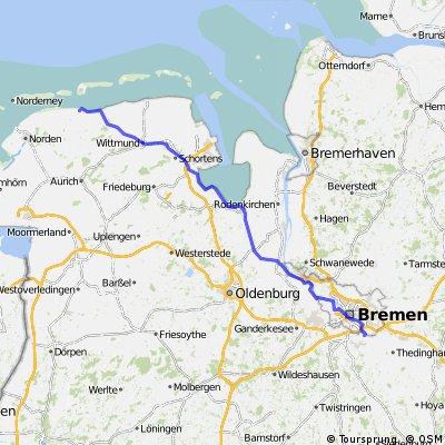 Bremen/Dreye nach DS