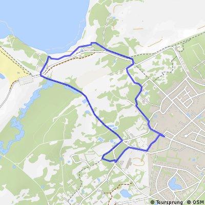 Short ride through Oostvoorne