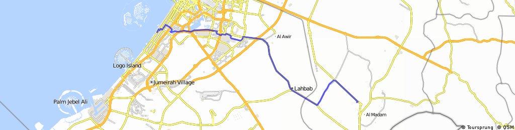 VAE - Oman - VAE 10 feb. 2016