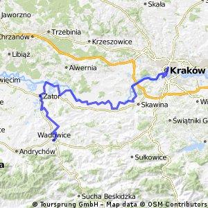 Wadowice-Zator-Kraków