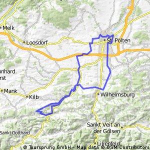 Abschnitt Römer-weg 652 von Rabenstein nach Hofstetten