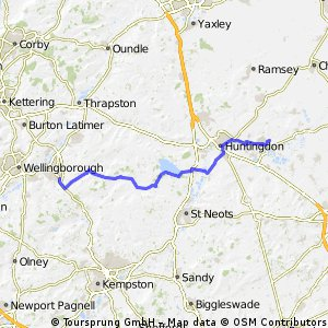 St Ives to Rushden
