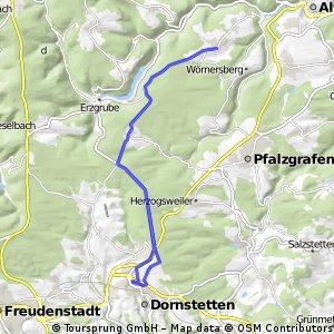 Dornstetten - Kälberbronn - Grömbach und zurück