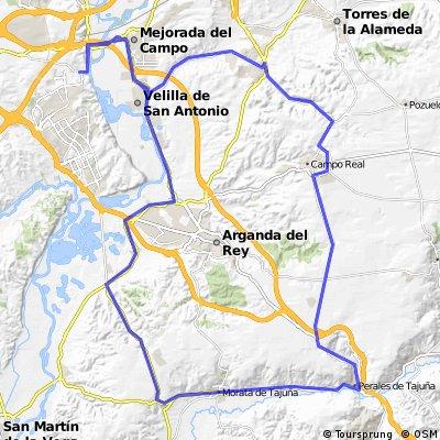 """Ruta Carretera 02: 77 Km 573 m - """"La Radio y Perales"""""""