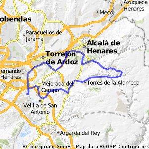 """Ruta Carretera 06: 70 Km 516 m - """"Zulema y Corpa"""""""
