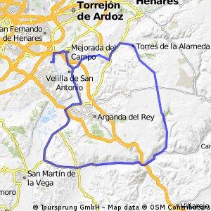 """Ruta Carretera 07: 90 Km 688 m - """"Cuesta Nueva, Los Botes y descenso del Torresduro"""""""