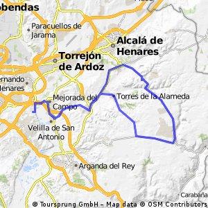 """Ruta Carretera 08: 79 Km 711 m - """"Torresduro y Valverde"""""""