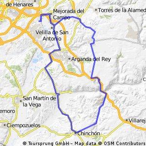 """Ruta Carretera 09: 96 Km 820 m - """"La Radio, Chinchón y Las Cabras"""""""