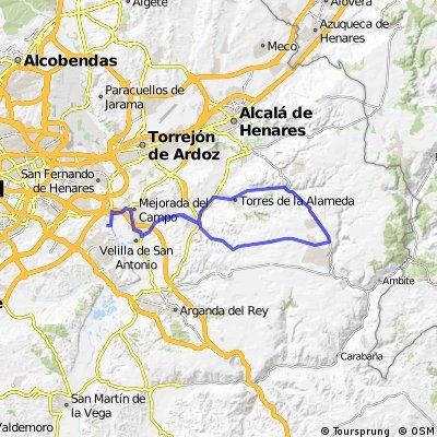 """Ruta Carretera 04: 66 Km 476 m - """"Los Pinos de Nuevo Baztán"""""""
