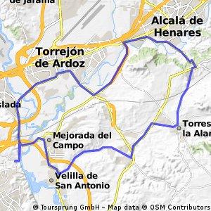 "Ruta Carretera 01: 51 Km 298 m - ""El Gurugú"""