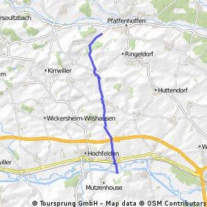 La bergerie, schwindratzheim canal 12km