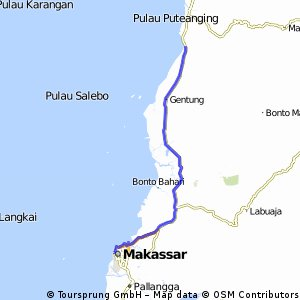 From Makassar to Mandalle - April 21