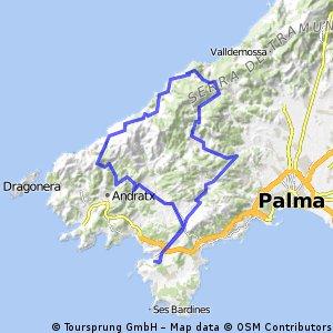 Santa Ponca - Calvia - Banyalbufar - Santa Ponca