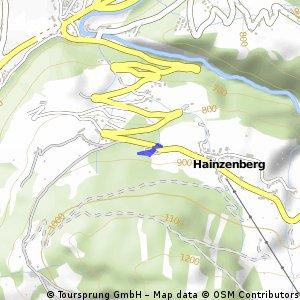 Kurze Radrunde durch Hainzenberg