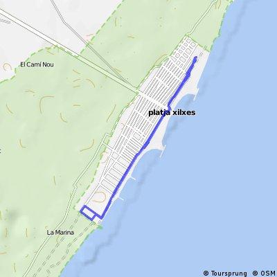 Carrera a pie - Triatló Olímpic Platges de Xilxes Trilavall