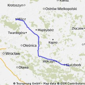Bąków k. Kluczborka - Milicz