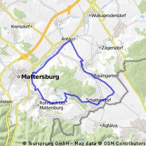Radrunde durch Draßburg